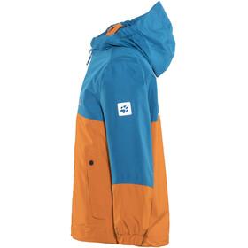 Jack Wolfskin B Iceland Jas Kinderen oranje/blauw